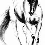 фото Эскизы тату конь от 29.09.2017 №070 - Sketches of a horse tattoo - tatufoto.com