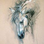 фото Эскизы тату конь от 29.09.2017 №072 - Sketches of a horse tattoo - tatufoto.com