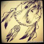 фото Эскизы тату конь от 29.09.2017 №077 - Sketches of a horse tattoo - tatufoto.com