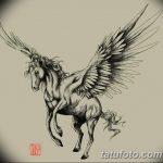 фото Эскизы тату конь от 29.09.2017 №079 - Sketches of a horse tattoo - tatufoto.com