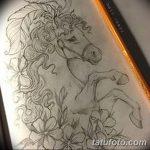 фото Эскизы тату конь от 29.09.2017 №084 - Sketches of a horse tattoo - tatufoto.com