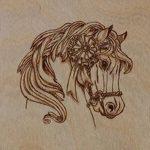 фото Эскизы тату конь от 29.09.2017 №093 - Sketches of a horse tattoo - tatufoto.com