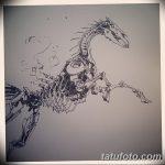 фото Эскизы тату конь от 29.09.2017 №099 - Sketches of a horse tattoo - tatufoto.com