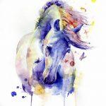 фото Эскизы тату конь от 29.09.2017 №105 - Sketches of a horse tattoo - tatufoto.com