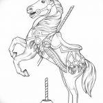 фото Эскизы тату конь от 29.09.2017 №106 - Sketches of a horse tattoo - tatufoto.com