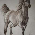 фото Эскизы тату конь от 29.09.2017 №118 - Sketches of a horse tattoo - tatufoto.com