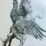 фото Эскизы тату конь от 29.09.2017 №120 - Sketches of a horse tattoo - tatufoto.com