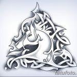фото Эскизы тату конь от 29.09.2017 №126 - Sketches of a horse tattoo - tatufoto.com
