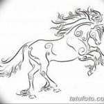 фото Эскизы тату конь от 29.09.2017 №131 - Sketches of a horse tattoo - tatufoto.com