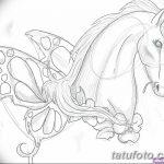 фото Эскизы тату конь от 29.09.2017 №133 - Sketches of a horse tattoo - tatufoto.com
