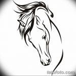 фото Эскизы тату конь от 29.09.2017 №136 - Sketches of a horse tattoo - tatufoto.com