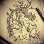 фото Эскизы тату конь от 29.09.2017 №144 - Sketches of a horse tattoo - tatufoto.com