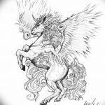 фото Эскизы тату конь от 29.09.2017 №148 - Sketches of a horse tattoo - tatufoto.com