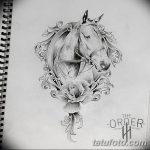 фото Эскизы тату конь от 29.09.2017 №157 - Sketches of a horse tattoo - tatufoto.com