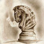 фото Эскизы тату конь от 29.09.2017 №162 - Sketches of a horse tattoo - tatufoto.com