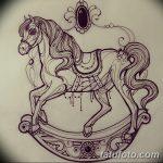 фото Эскизы тату конь от 29.09.2017 №163 - Sketches of a horse tattoo - tatufoto.com