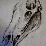 фото Эскизы тату конь от 29.09.2017 №165 - Sketches of a horse tattoo - tatufoto.com