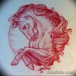 фото Эскизы тату конь от 29.09.2017 №169 - Sketches of a horse tattoo - tatufoto.com