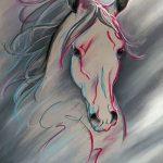 фото Эскизы тату конь от 29.09.2017 №176 - Sketches of a horse tattoo - tatufoto.com