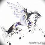 фото Эскизы тату конь от 29.09.2017 №178 - Sketches of a horse tattoo - tatufoto.com