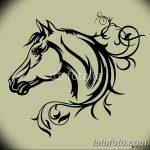 фото Эскизы тату конь от 29.09.2017 №181 - Sketches of a horse tattoo - tatufoto.com