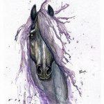 фото Эскизы тату конь от 29.09.2017 №189 - Sketches of a horse tattoo - tatufoto.com