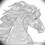 фото Эскизы тату конь от 29.09.2017 №197 - Sketches of a horse tattoo - tatufoto.com