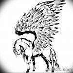 фото Эскизы тату конь от 29.09.2017 №199 - Sketches of a horse tattoo - tatufoto.com