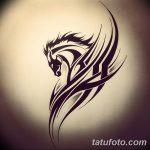 фото Эскизы тату конь от 29.09.2017 №207 - Sketches of a horse tattoo - tatufoto.com