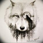 фото Эскизы тату лес от 29.09.2017 №020 - Sketches of a forest tattoo - tatufoto.com