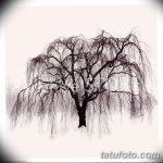 фото Эскизы тату лес от 29.09.2017 №021 - Sketches of a forest tattoo - tatufoto.com