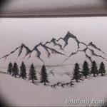 фото Эскизы тату лес от 29.09.2017 №030 - Sketches of a forest tattoo - tatufoto.com