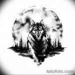 фото Эскизы тату лес от 29.09.2017 №031 - Sketches of a forest tattoo - tatufoto.com