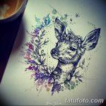 фото Эскизы тату лес от 29.09.2017 №070 - Sketches of a forest tattoo - tatufoto.com