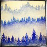 фото Эскизы тату лес от 29.09.2017 №076 - Sketches of a forest tattoo - tatufoto.com