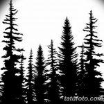 фото Эскизы тату лес от 29.09.2017 №087 - Sketches of a forest tattoo - tatufoto.com 1246612