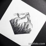 фото Эскизы тату лес от 29.09.2017 №093 - Sketches of a forest tattoo - tatufoto.com