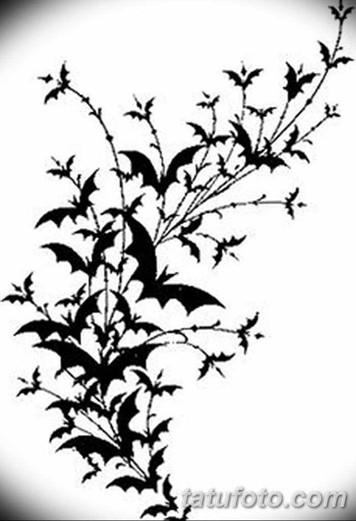 фото Эскизы тату летучая мышь от 27.09.2017 №014 - Sketches a bat tattoo - tatufoto.com