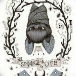 фото Эскизы тату летучая мышь от 27.09.2017 №019 - Sketches a bat tattoo - tatufoto.com