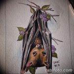 фото Эскизы тату летучая мышь от 27.09.2017 №040 - Sketches a bat tattoo - tatufoto.com