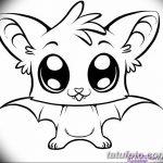 фото Эскизы тату летучая мышь от 27.09.2017 №057 - Sketches a bat tattoo - tatufoto.com