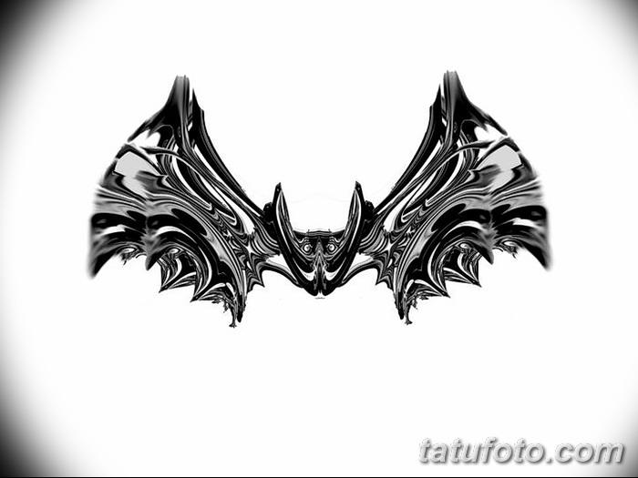 фото Эскизы тату летучая мышь от 27.09.2017 №063 - Sketches a bat tattoo - tatufoto.com