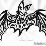 фото Эскизы тату летучая мышь от 27.09.2017 №070 - Sketches a bat tattoo - tatufoto.com