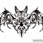 фото Эскизы тату летучая мышь от 27.09.2017 №071 - Sketches a bat tattoo - tatufoto.com
