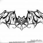 фото Эскизы тату летучая мышь от 27.09.2017 №072 - Sketches a bat tattoo - tatufoto.com