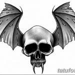 фото Эскизы тату летучая мышь от 27.09.2017 №075 - Sketches a bat tattoo - tatufoto.com