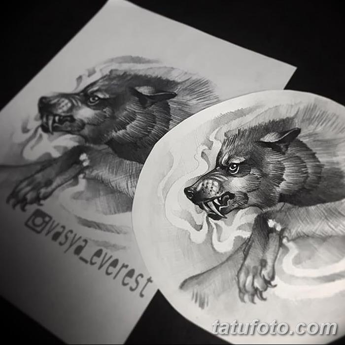 фото Эскизы тату свинья (кабан) от 26.09.2017 №021 - Sketches of a pig - tatufoto.com
