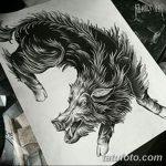 фото Эскизы тату свинья (кабан) от 26.09.2017 №060 - Sketches of a pig - tatufoto.com