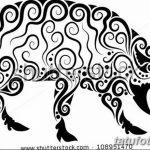 фото Эскизы тату свинья (кабан) от 26.09.2017 №066 - Sketches of a pig - tatufoto.com