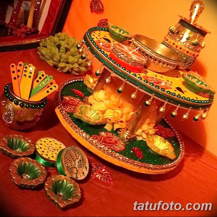 фото набор для рисунков хной от 25.09.2017 №007 - a set for henna drawings - tatufoto.com